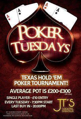 Private Poker Event Tuesday's