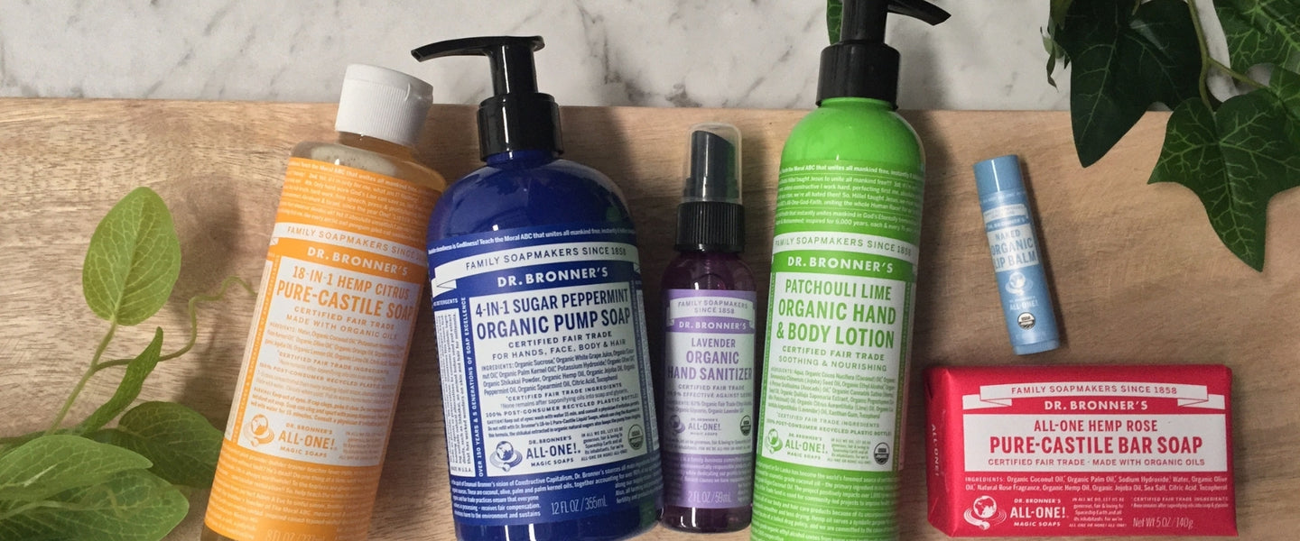 Dr Bronner's | Organic Beauty Co.