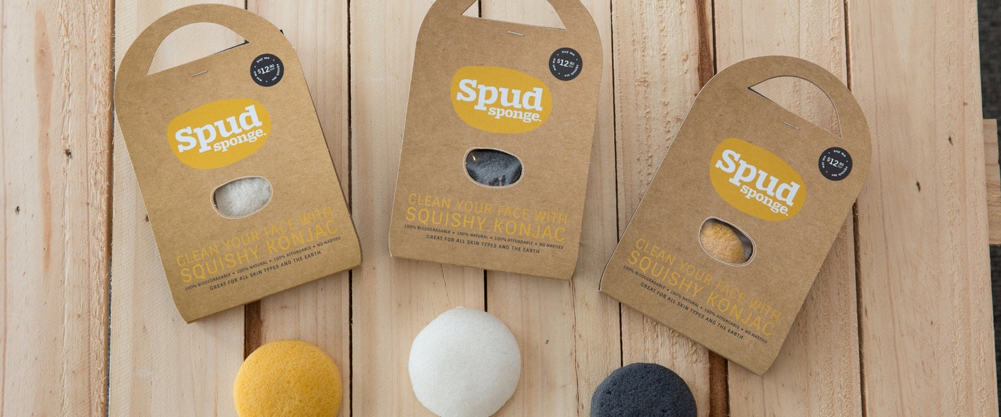 Spud Sponge | Organic Beauty Co.