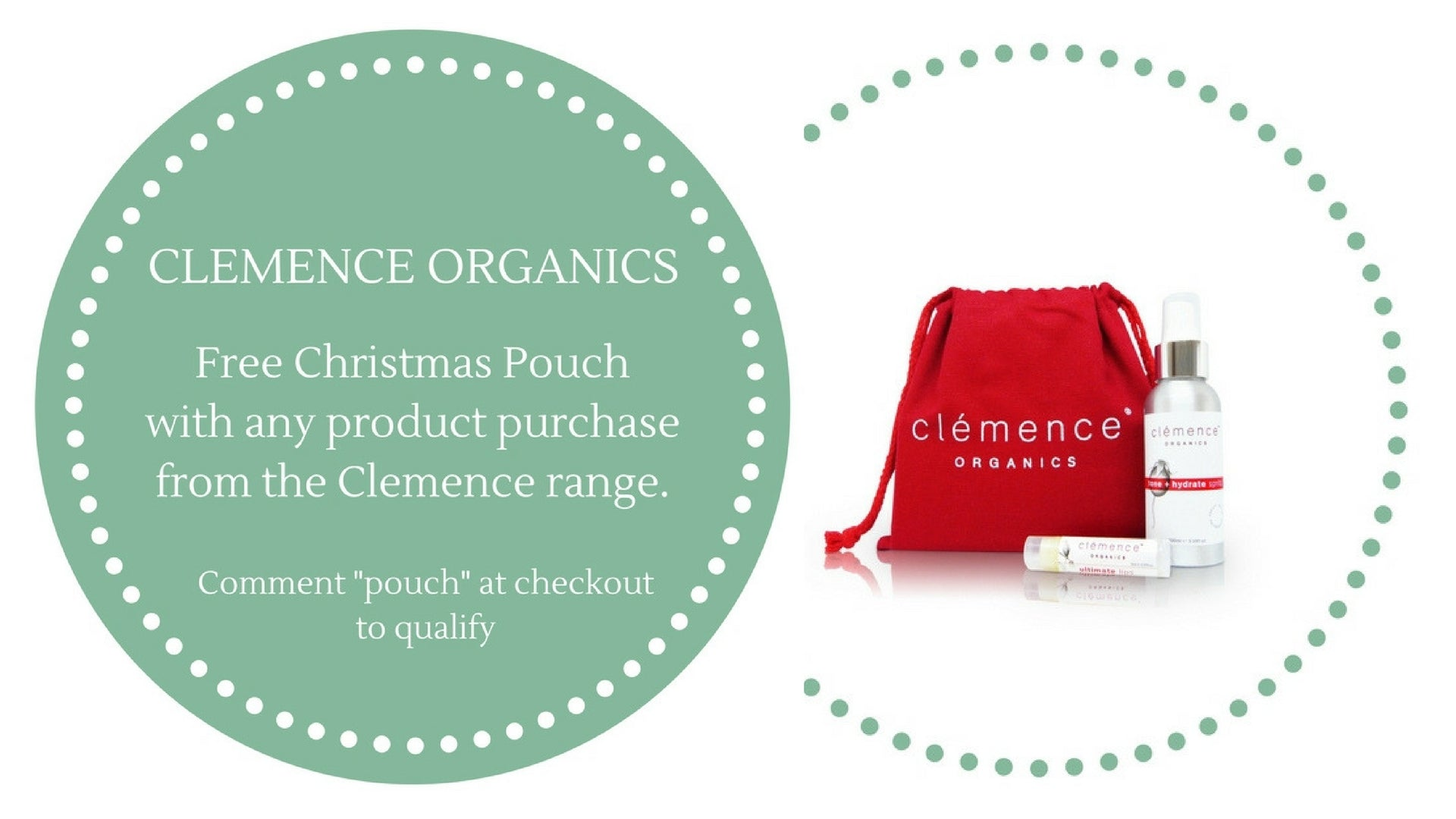 Clemence Organics Gift With Purchase