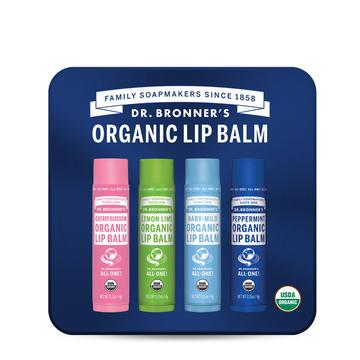Dr Bronner's Lip Tin With Peppermint