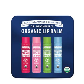 Dr Bronner's Lip Tin With Rose