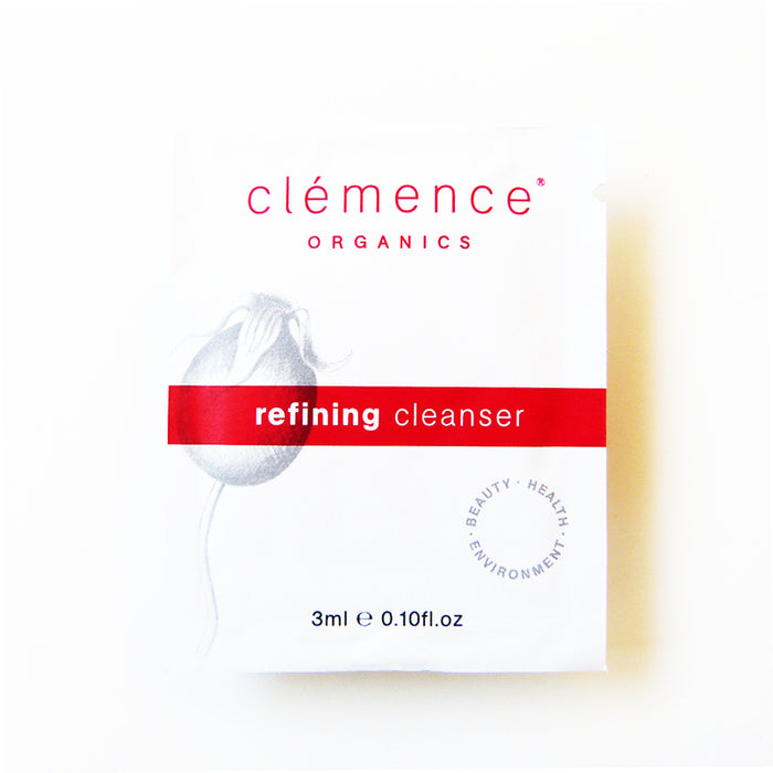 Sample - Clemence Organics Refining Cleanser