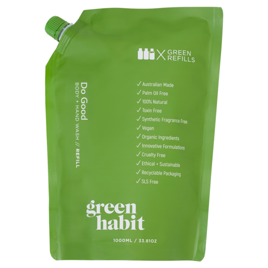 Green Habit Do Good Body + Hand Wash REFILL