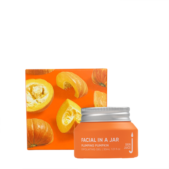 Skin Juice Facial In A Jar - Plumping Pumpkin