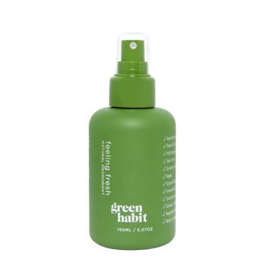 Green Habit Feeling Fresh Deodorant Spray