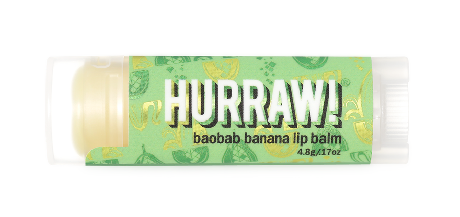 Hurraw! Lip Balm - Baobab Banana