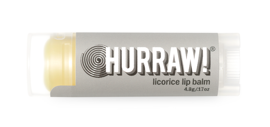 Hurraw! Lip Balm - Licorice