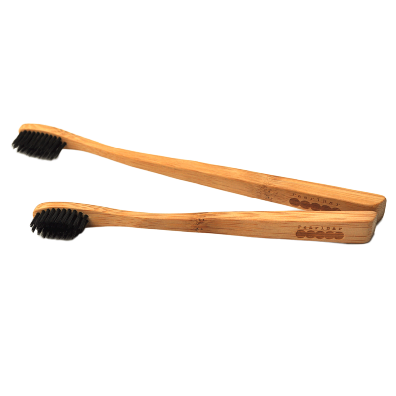 Pearl Bar Bamboo + Charcoal Toothbrush