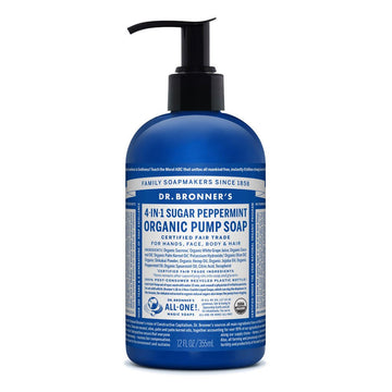 Dr Bronner's Organic Pump Soap - Peppermint