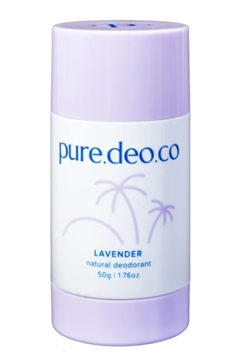 Pure Deo Co Lavender Natural Deodorant
