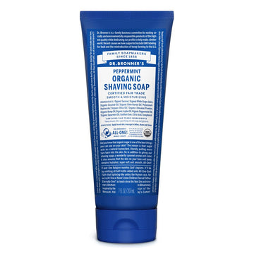 Dr Bronner's Organic Shaving Soap - Peppermint