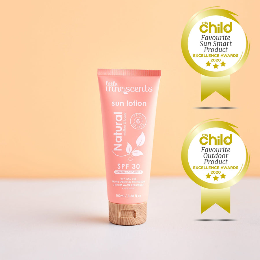 Little Innoscents Natural Sun Lotion SPF 30+