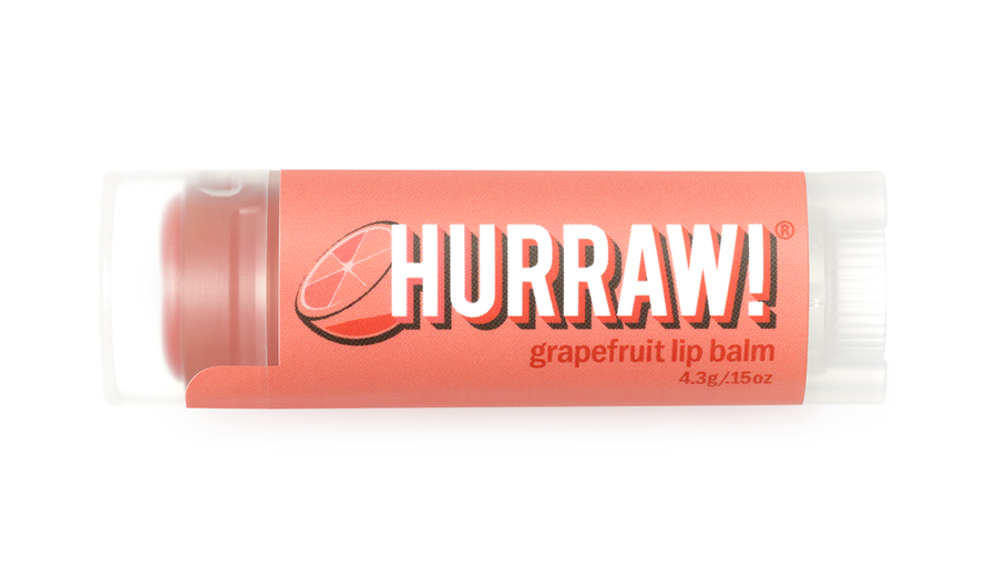 Hurraw! Lip Balm - Grapefruit