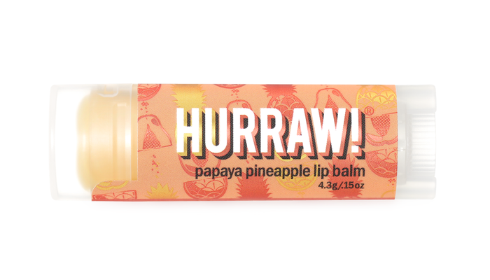 Hurraw! Lip Balm - Papaya Pineapple