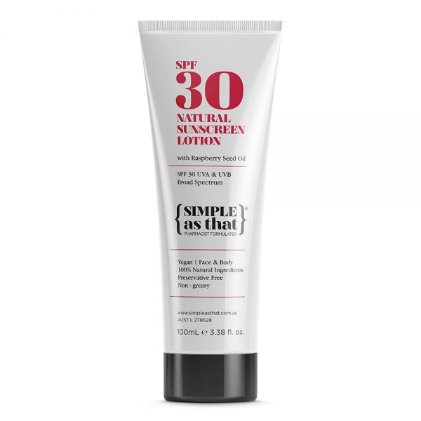 Simple As That Natural Sunscreen Lotion - SPF30