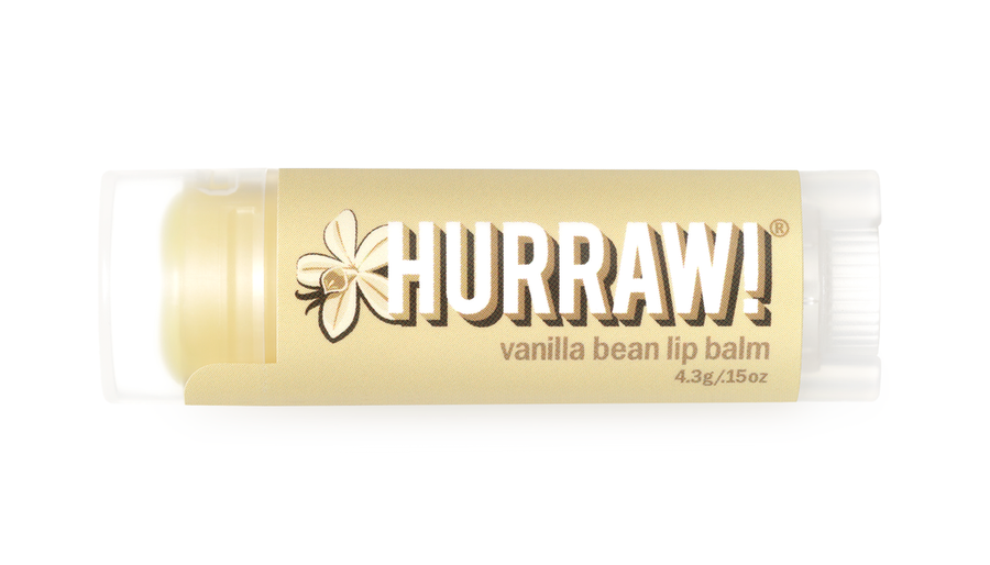 Hurraw! Lip Balm - Vanilla Bean