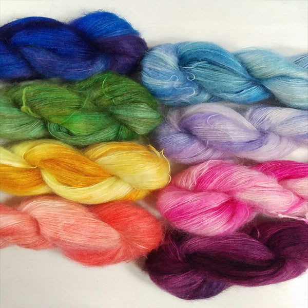 Kid Mohair-Silk Yarn