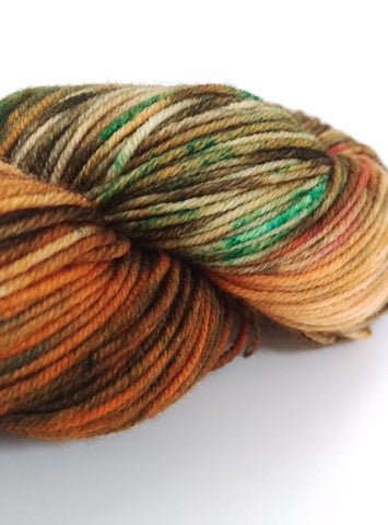 Superwash Merino Crazy Eight DK (8 ply), 100g - Autumn Harvest