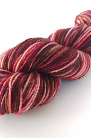Superwash Merino / Nylon, 4 ply (sock), 50g - Choco Berries