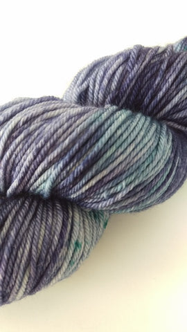Superwash Extra Fine Merino DK (8 ply), 115g - Blueberries & Cream