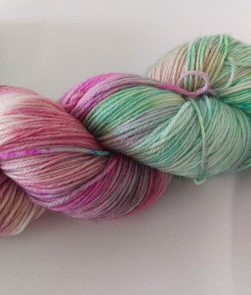 Superwash Merino / Bamboo, 4 ply, 100g - Candy Land