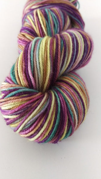 Superwash Merino / Nylon, 4 ply (sock), 50g - Gelato Ripple