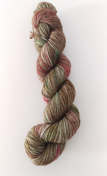 Superwash Merino / Nylon, 4 ply (sock), 50g - Pimento Olive