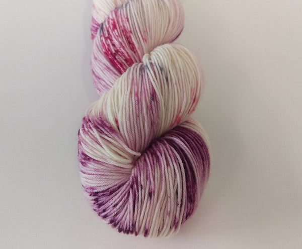 Superwash Merino / Nylon, 4 ply (sock), 100g - Vanilla Sundae Swirl