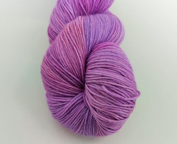 Superwash Merino / Bamboo, 4 ply, 100g - Culinary Lavender