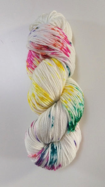 Superwash Merino / Bamboo DK (8 ply) - Cupcake with Sprinkles