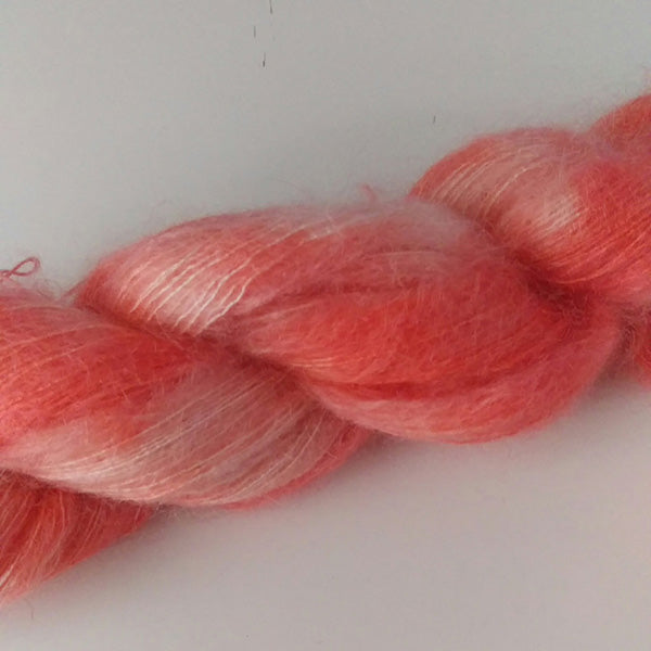 Kid Mohair / Silk, Lace 50g - Orange Sherbert