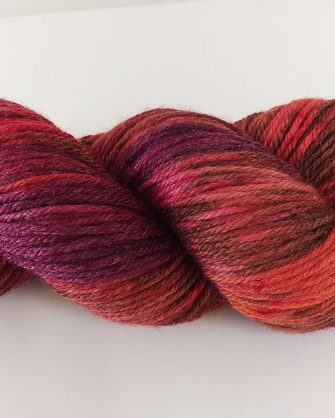 Superwash Extra Fine Merino DK (8 ply), 115g - Red Hot & Fruitty