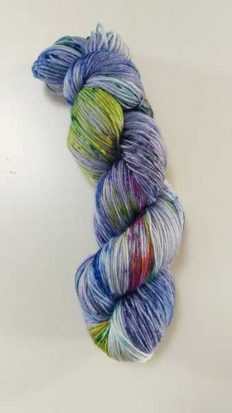 Superwash Merino / Bamboo, 4 ply, 100g - Someone Left the Cake Out in the Rain