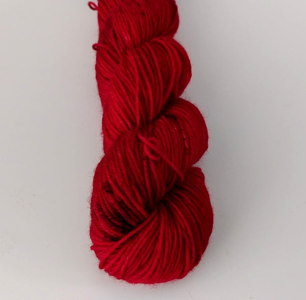 Superwash Merino / Nylon, 4 ply (sock), 50g - Super Cherry