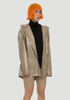 Holographic Jacket Beige
