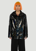 Holographic Jacket Black