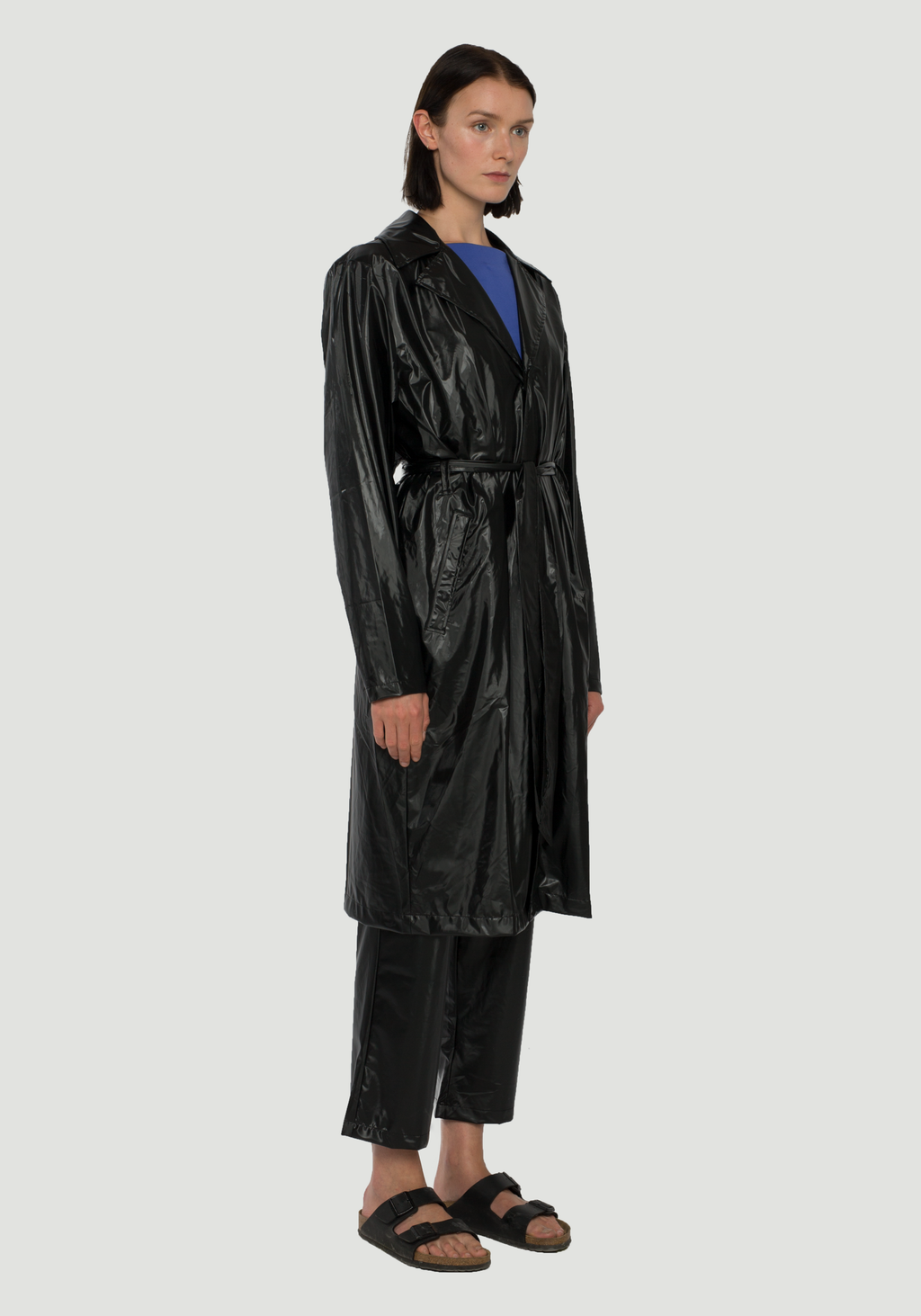City Overcoat Black