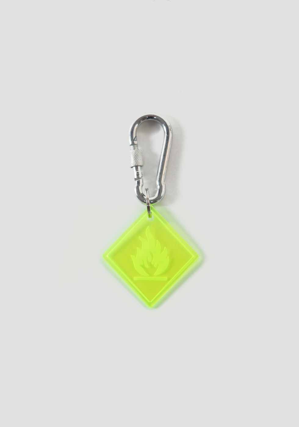 Highly Flammable Luggage Tag