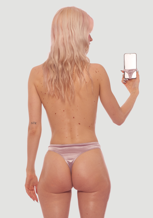 Panties for phone with matching human ones