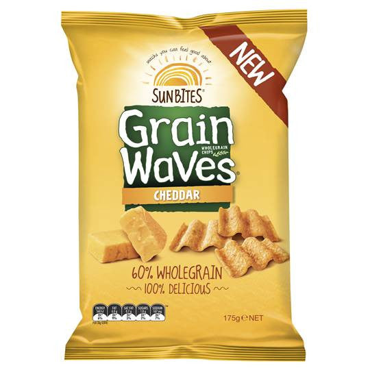 Grain Waves Cheddar 210g