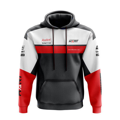 Motorsport teamwear sublimated hoodie