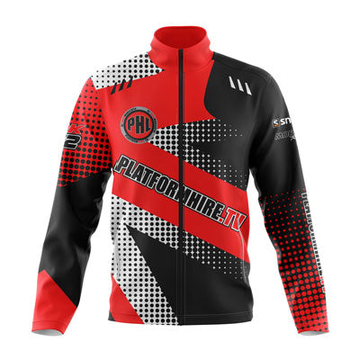 Motorsport sublimated teamwear softshell jacket