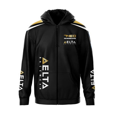 Motorsport teamwear sublimated zip hoodie