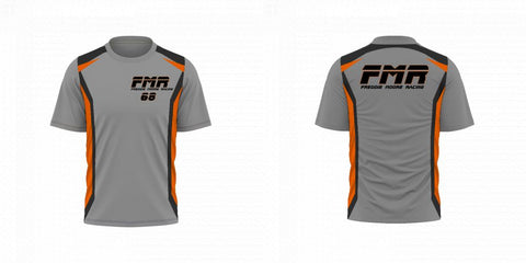 Custom Sublimated T-Shirt Design 2