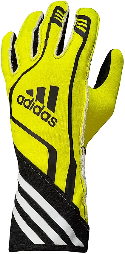 Adidas RSR Gloves Fluro Yellow/Black