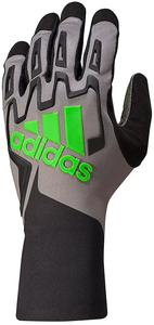 Adidas RSK Kart Gloves Black/Graphite/Fluro Green
