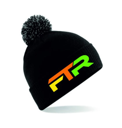 FTR Embroidered Beanie