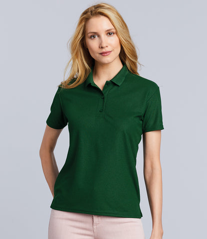 Gildan Ladies Performance Double Pique Polo Shirt
