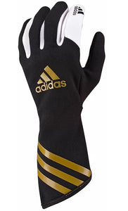 Adidas XLT Kart Gloves Black/Metallic Gold